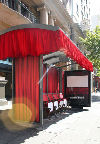 Bus shelter movies in Australia